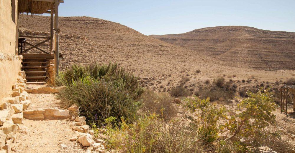 בקתה במדבר - חוות נאות