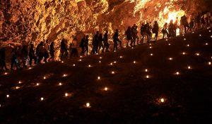 הופעה במערת צדקייהו ירושלים